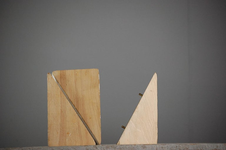 Collection of Artist Geometric Forms In Fair Condition For Sale In Pease pottage, West Sussex