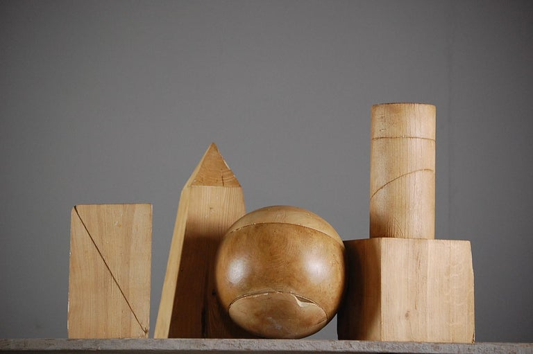 Collection of Artist Geometric Forms For Sale 2