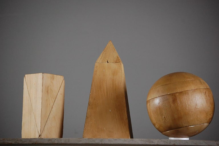 Collection of Artist Geometric Forms For Sale 4