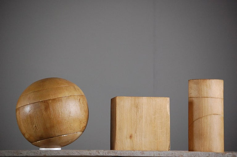 Collection of Artist Geometric Forms For Sale 5