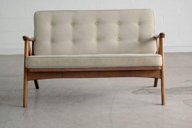 Beau Great 1960s Easy Style Sofa In The Style Of Hovman Olsen. Smaller  Proportions More