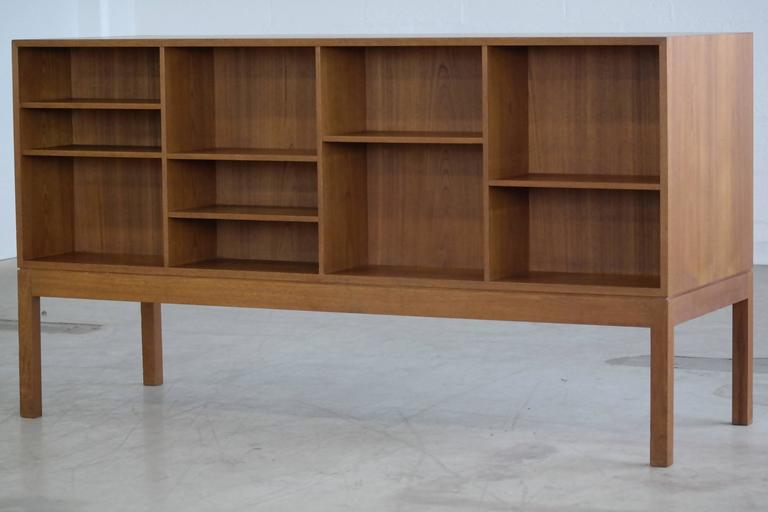 Jacob Kjaer Attributed Danish Large Teak Office Credenza For Sale 2