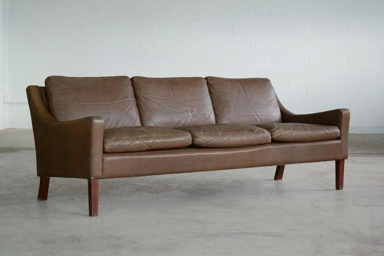 mid century furniture for sale melbourne danish sofa bed style canada barge brown distressed leather