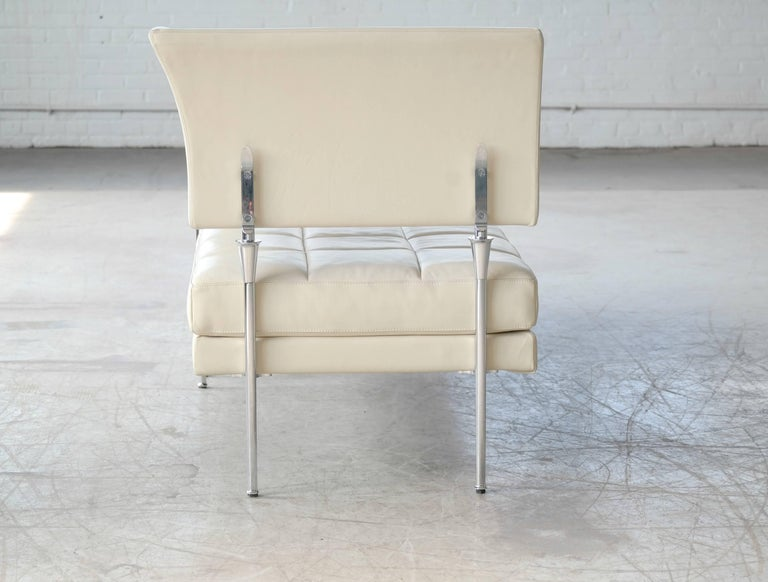 Luca Scacchetti Chaise Longue Model Hydra for Poltrona Frau, Italy 9