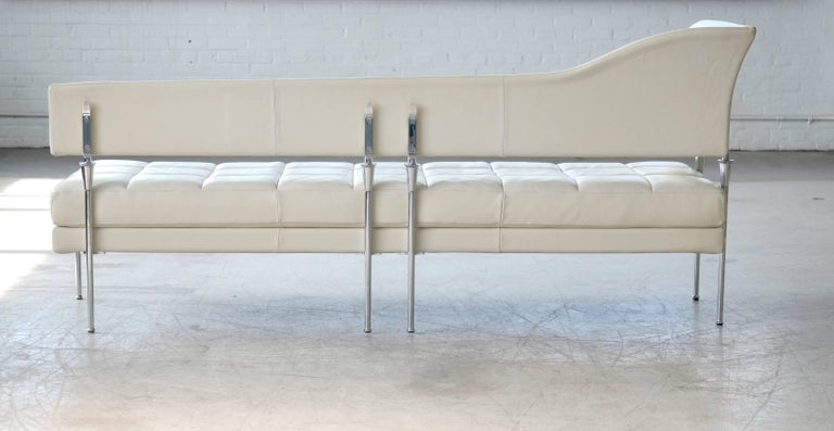 Luca Scacchetti Chaise Longue Model Hydra for Poltrona Frau, Italy For Sale 3