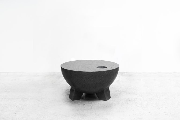 Contemporary Pedro Reyes, Molcajete Table 'Mortar Table', Mexico, 2018 For Sale