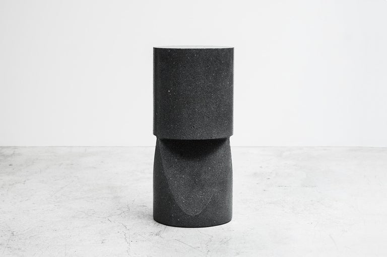 Mexican Pedro Reyes, Stone Stool, Mexico 2018 For Sale