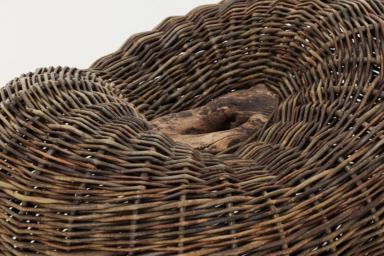 Contemporary Crafted basket by Joe Hogan, Irland, 2009 For Sale