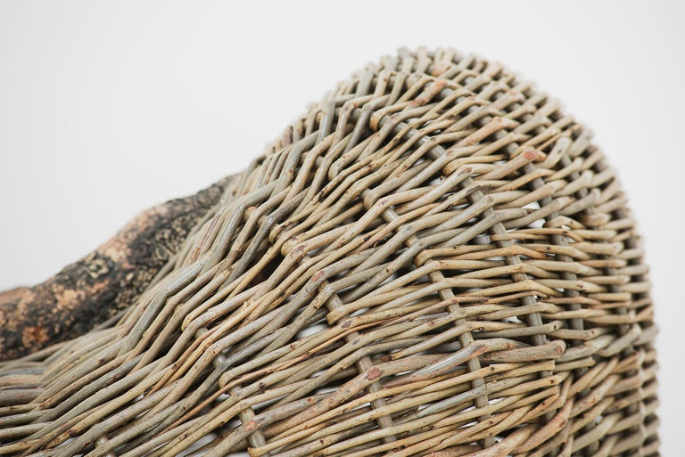 Crafted basket by Joe Hogan, Irland, 2009 For Sale 2