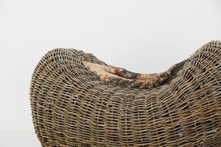 Irish Crafted basket by Joe Hogan, Irland, 2009 For Sale
