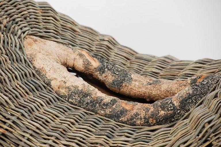 Crafted basket by Joe Hogan, Irland, 2009 In New Condition For Sale In Barcelona, Spain