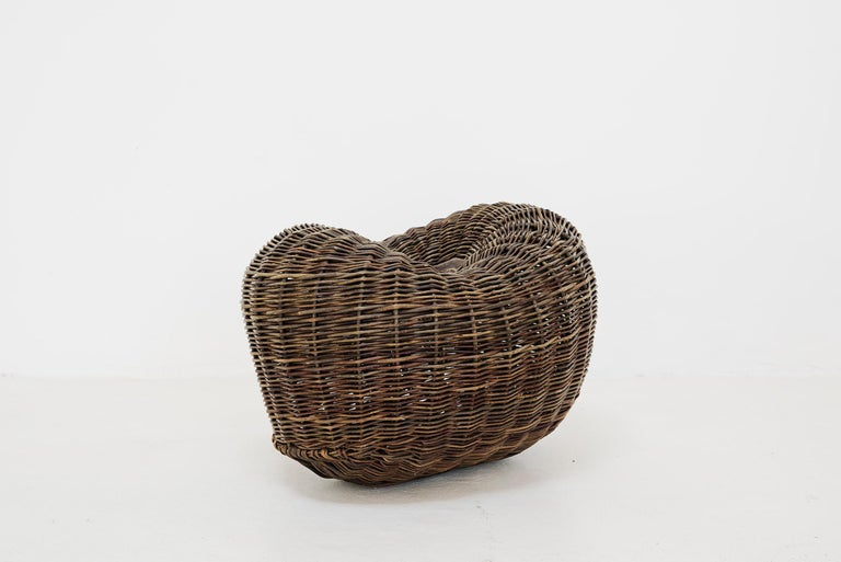 Crafted basket by Joe Hogan, Irland, 2009 For Sale 3