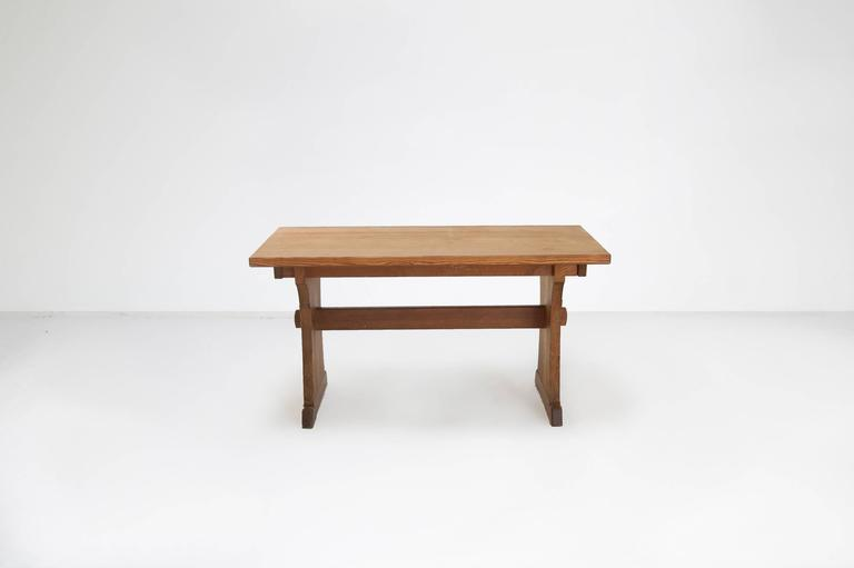 Axel Einar Hjorth Extendable Dining Table Manufactured by Nordiska Kompaniet 3