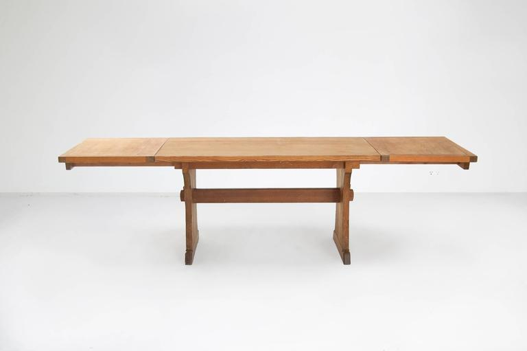 Axel Einar Hjorth Extendable Dining Table Manufactured by Nordiska Kompaniet 4
