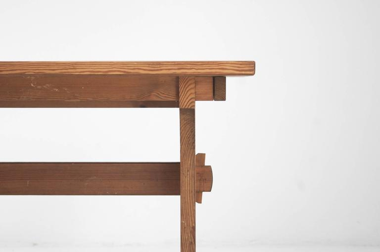 Axel Einar Hjorth Extendable Dining Table Manufactured by Nordiska Kompaniet 5