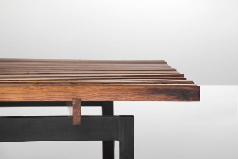 Mid-Century Modern Branco e Preto 'Carlos Milan' coffee table, Brazil, 1950 For Sale
