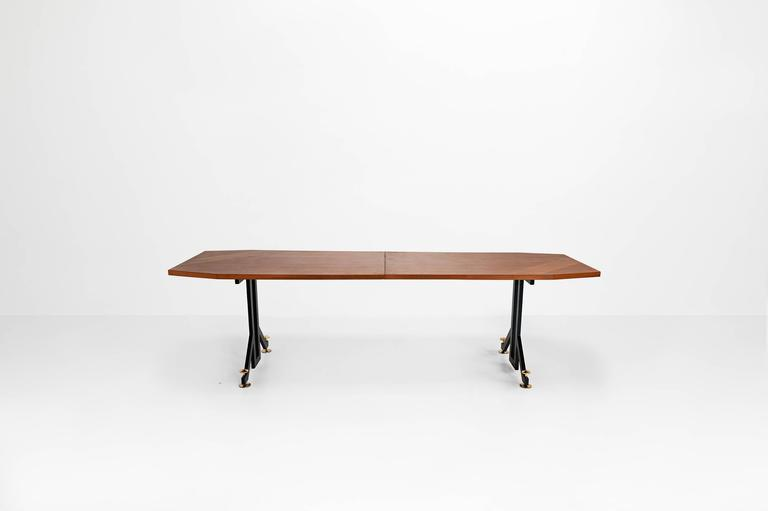 Anonymous, Extendable Dining Table, Italy, 1950 2