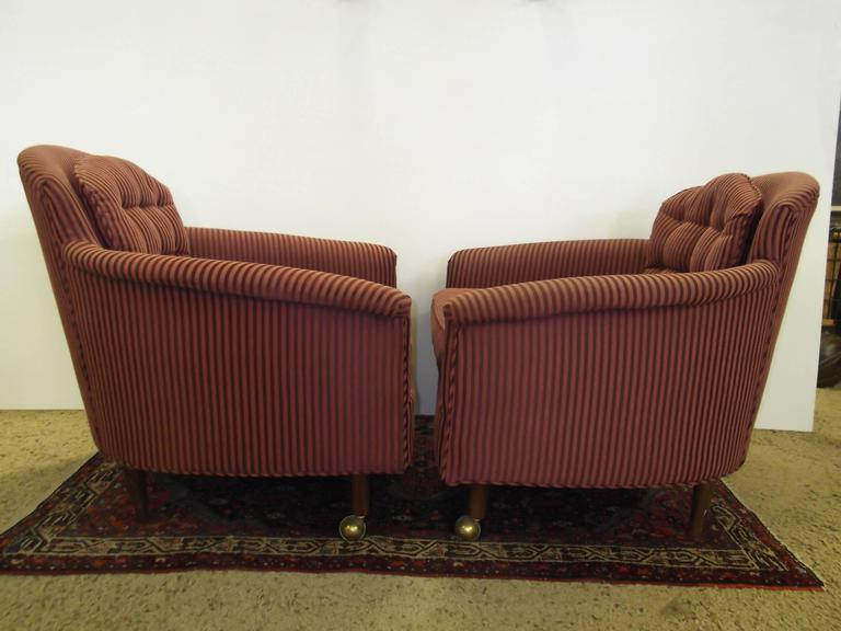 Pair Of Lounge Chairs With Bentwood Coffee Table Set Attr To Adrian Pearsall At 1stdibs