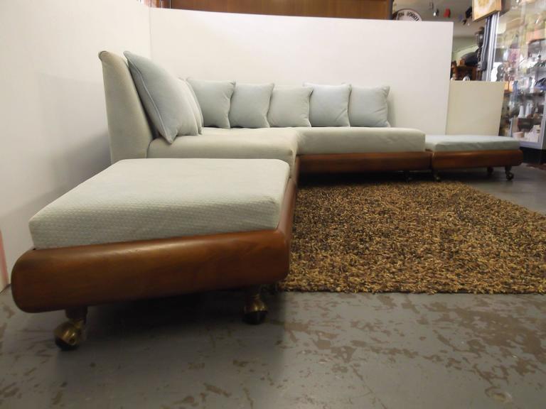 Awesome Adrian Pearsall Boomerang L Sofa Ottoman Set At 1stdibs