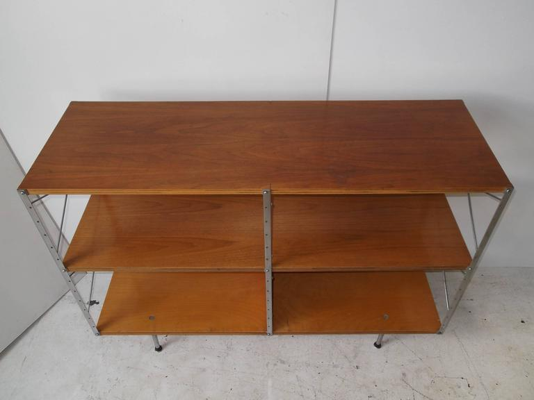 Mid-Century Modern Original 1950s Charles Eames ESU Storage Unit Shelf for Herman Miller For Sale