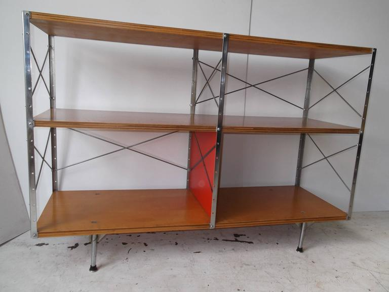 Original 1950s Charles Eames ESU Storage Unit Shelf for Herman Miller In Good Condition For Sale In Tulsa, OK