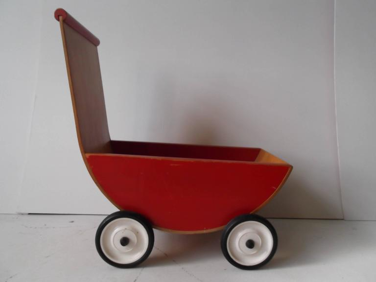 Creative Playthings Bentwood Lot Of Child S Toys Cradle
