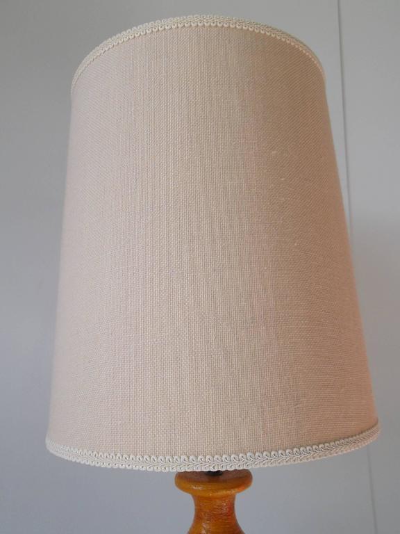 Bitossi for Raymor 1950s Tall Italian Pottery Table Lamp 8