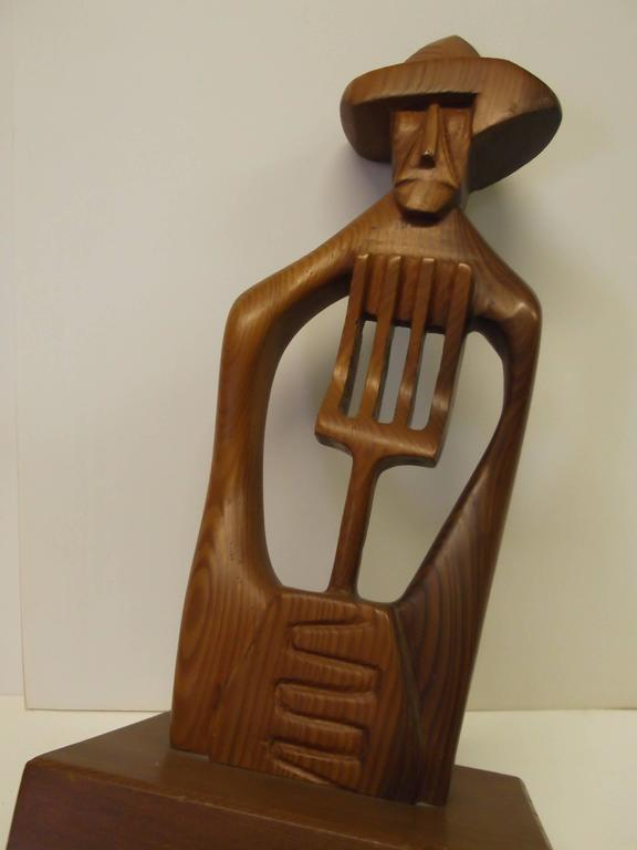 This is an absolutely fantastic wood carving by Los Angeles, Phoenix Arizona artist, Frank,