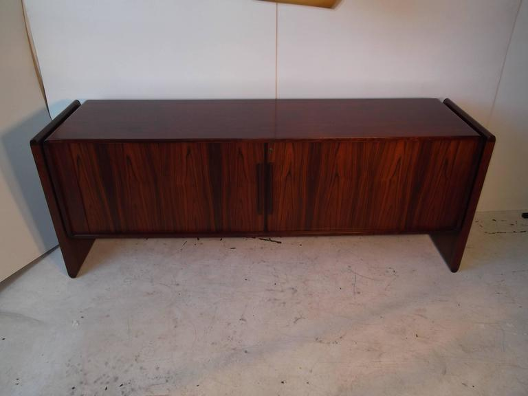 Dyrlund Danish Credenza : Select modern dyrlund teak credenza bar sideboard buffet with