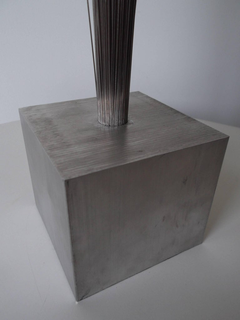 Vintage Modern Metal Spray Sculpture in the Style of Harry Bertoia For Sale 1