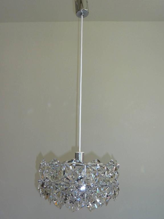 Vintage Cut Crystal Kinkeledy Chandelier, 1970s For Sale at 1stdibs