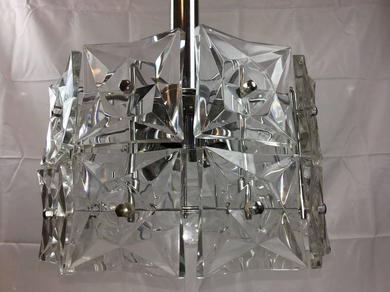 Modern Geometric Kinkeldey Two-Tier Round Hanging Light Fixture For ...