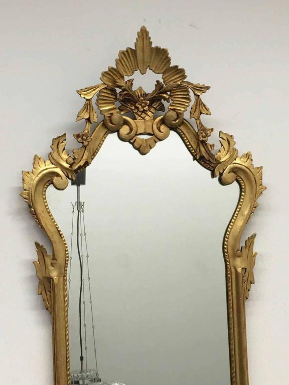 French rococo style giltwood decorative mirror for sale at for Rococo decorative style