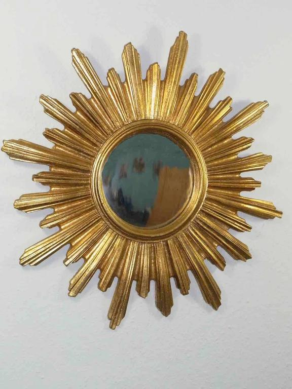 Gorgeous starburst mirror. 