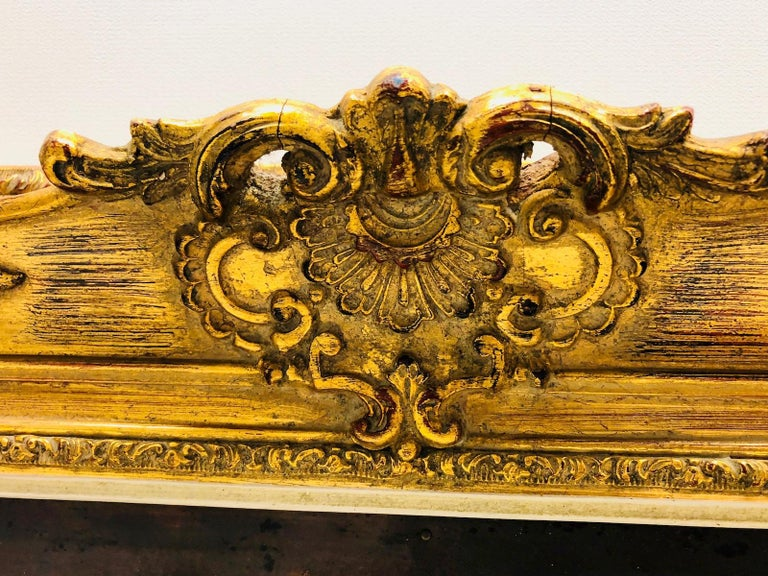 Giltwood Framed Copper of Nuernberg Germany City View Antiques 1920s Item For Sale 4