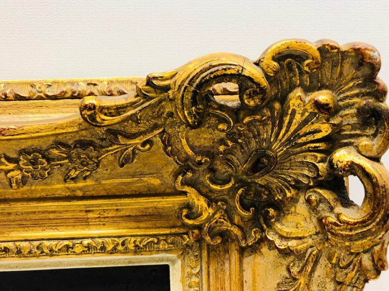 Giltwood Framed Copper of Nuernberg Germany City View Antiques 1920s Item For Sale 5