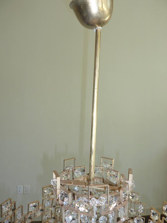 Geometric Lobmeyr Chandelier For Sale 2