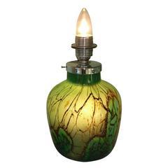 WMF Ikora Art Deco Ikora Glass Table Lamp