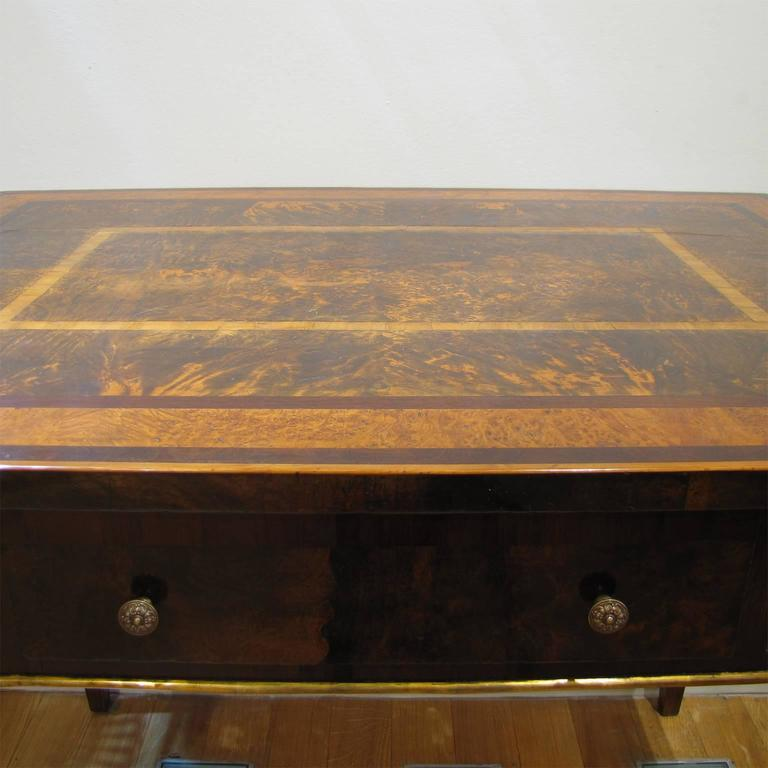 Italian Late 18th Century Louis XVI Desk in Palisander, Walnut and Olive Wood For Sale 2