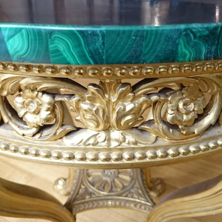 This antique french cherry side table is no longer available - Italian 18th Century Louis Xvi Centre Table In Gilt Wood