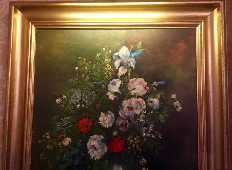19th Century Martha Walter Floral Still Life For Sale