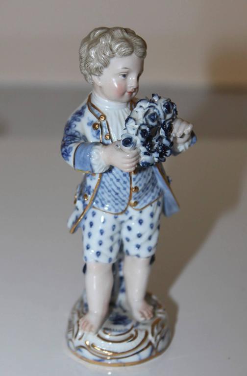 19th Century German Meissen Figurine For Sale 1