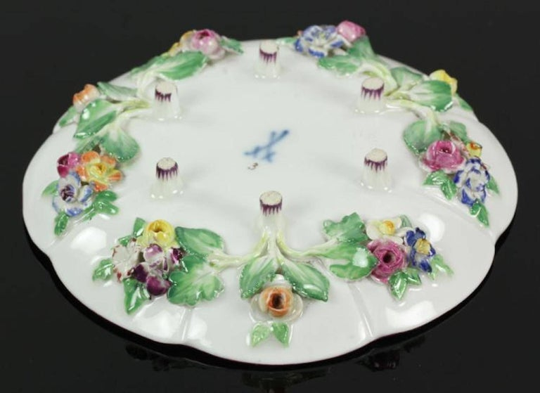 19th Century Meissen Cup and Saucer For Sale 2