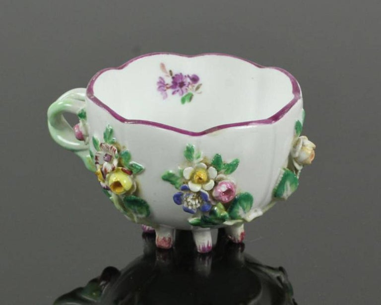 19th Century Meissen Cup and Saucer For Sale 4
