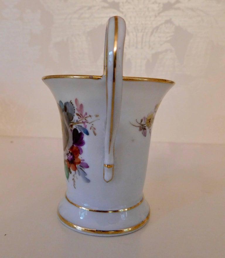 20th Century Meissen Porcelain Demitasse Cup & Saucer For Sale 1