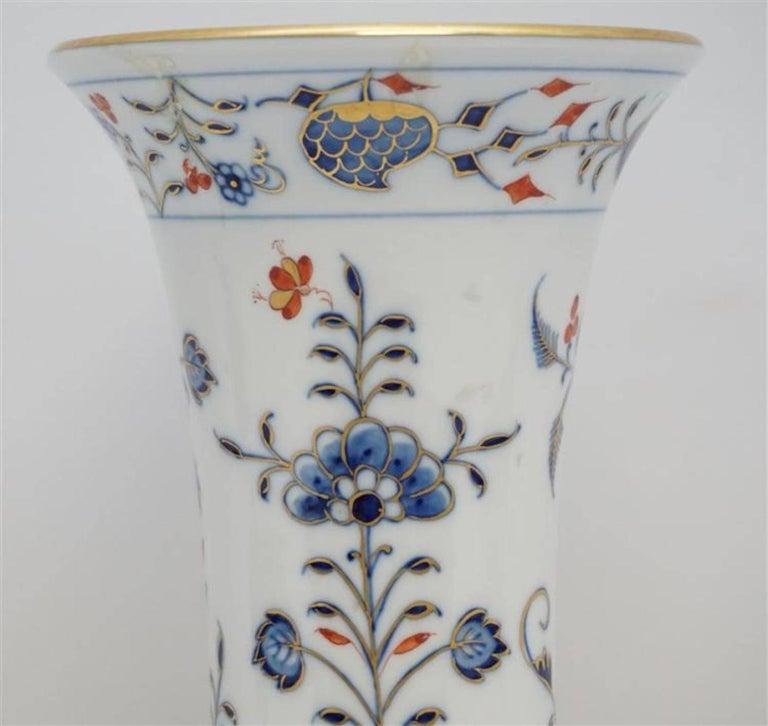 Meissen Porcelain Blue Onion Vase 2