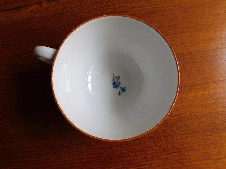 German Antique 18th Century Meissen Porcelain Cup For Sale