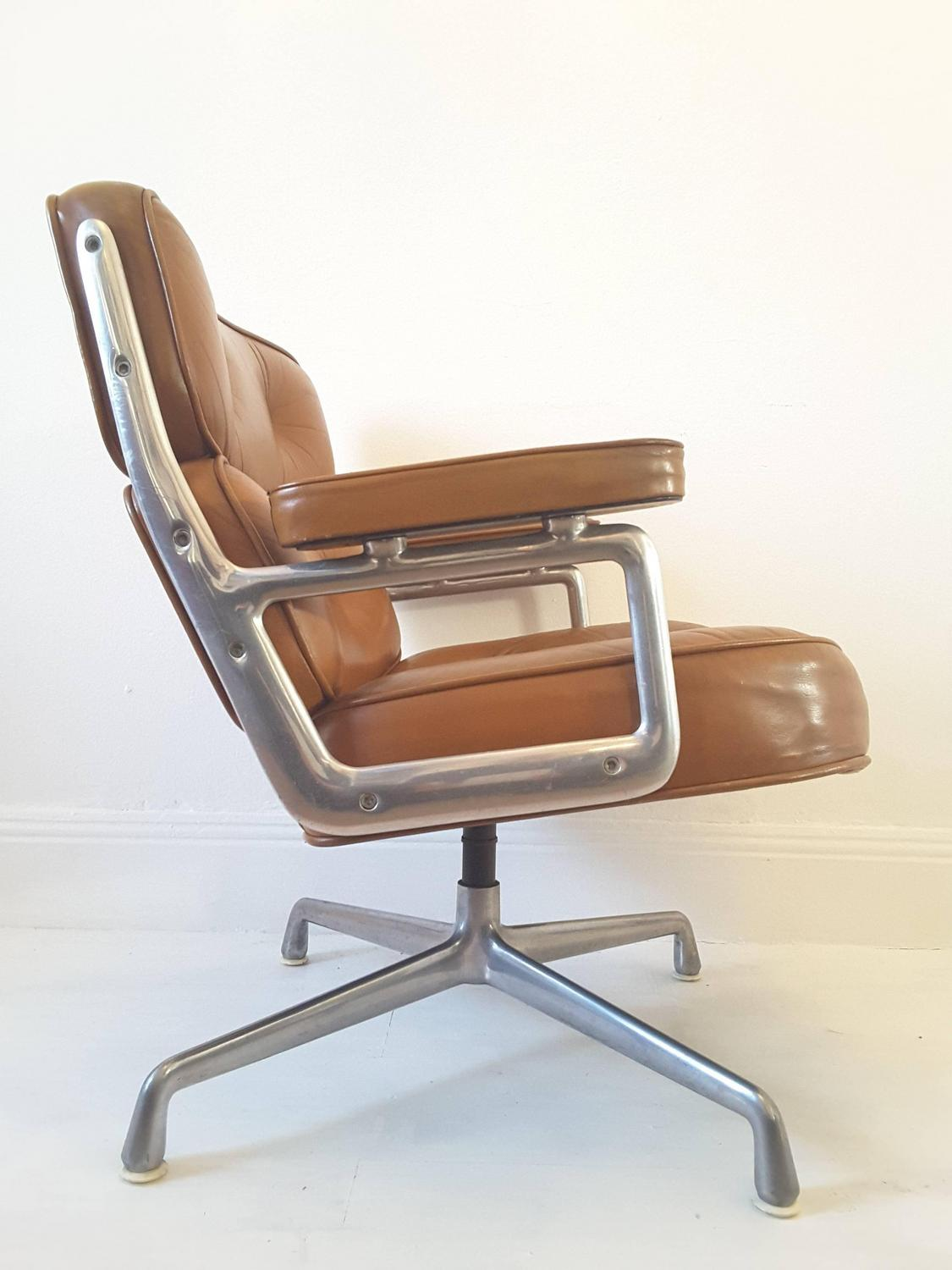 vintage eames time life lobby lounge chair for sale at 1stdibs