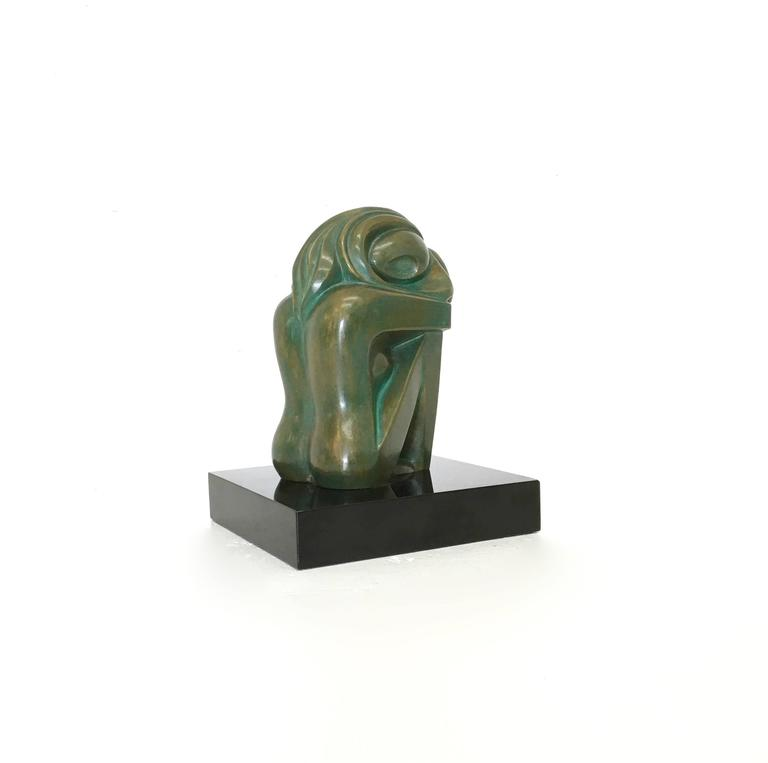 Mid-Century Bronze Nude Sculpture by Jose Ledesma Zavala 2