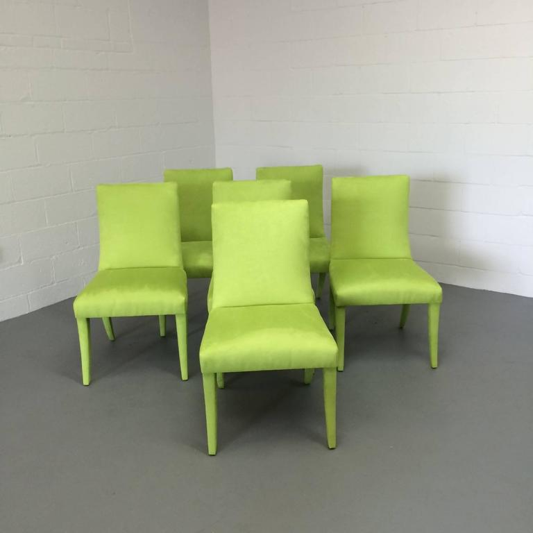 Set Of Six Mid Century Modern Dining Chairs For Sale At
